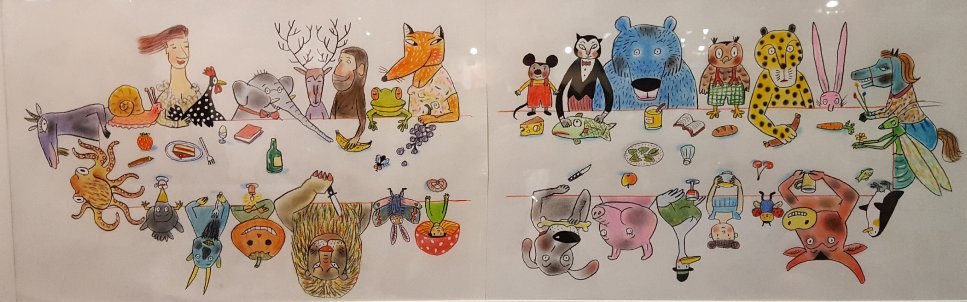 Animal illustrations for the Book Fair in Bologna...