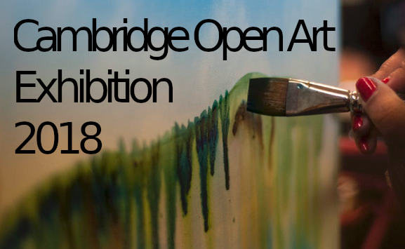 Cambridge OPen Art Exhibition 2018 - image and web link
