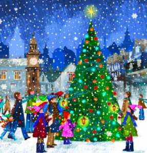 It's never too early for a JDRF UK Christmas card!